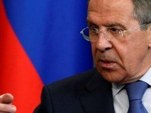 Lavrov: Arkadan bıçaklamalar dahil, hiçbir eylem Rusya'yı vazgeçiremez