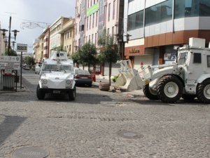 Diyarbakır'ın Sur ilçesinde sokağa çıkma yasağı