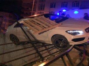 Ankara'da ilginç kaza