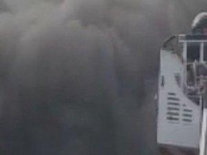 Fatih'te korkutan yangın