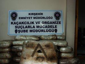 112 kilo esrar maddesi ele geçirildi, bir kişi tutuklandı