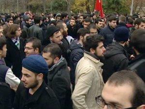 Ankara Üniversitesi'nde eylem