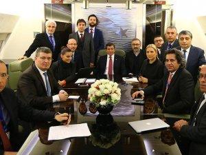 Başbakan Davutoğlu: Türkiye, güvenliği söz konusu olduğunda tereddüt etmez