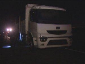 Ankara'da şüpheli kamyon alarmı
