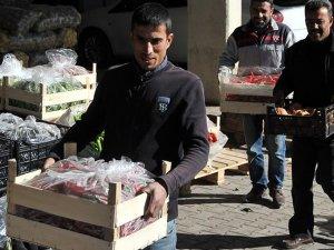Meyve sebzede yeni rota Orta Doğu
