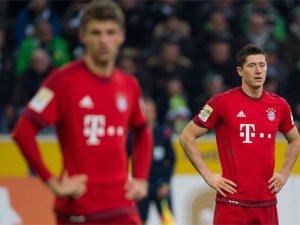 Bayern Münih, ilk mağlubiyeti yaşadı