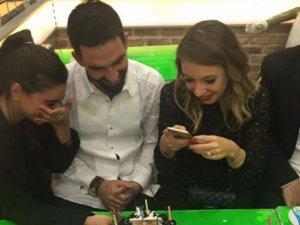 Arda Turan'dan sevgilisine doğum günü sürprizi