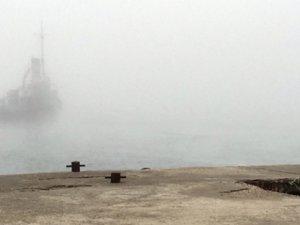 Boğazda ulaşıma sis engeli
