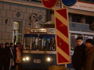 Moskova'da otobüs durağında patlama