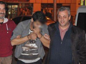 Sahte polisler, gerçek polislerden kaçamadı