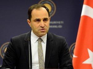 Dışişleri Bakanlığı Sözcüsü Bilgiç: Nebil El Arabi'nin beyanlarının geçerliliği yoktur