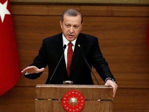Cumhurbaşkanı Erdoğan: Türkiye terör örgütünün başını ezmeye muktedir bir devlettir