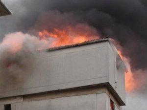 Kartal'da yangın paniği