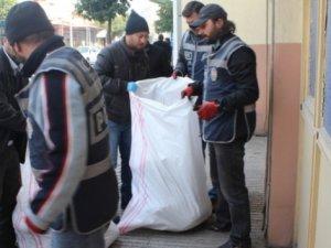 Ceyhan'da 105 kilo esrar ele geçirildi