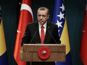 Cumhurbaşkanı Erdoğan: Askerlerimiz (Musul'a) muharip değil eğitimci olarak gitmiştir