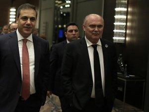 Fidan ve Sinirlioğlu Irak Başbakanı İbadi'yle Bağdat'ta görüştü