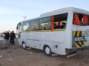 Malatya'da öğrenci servisi ile kamyon çarpıştı: 16 yaralı