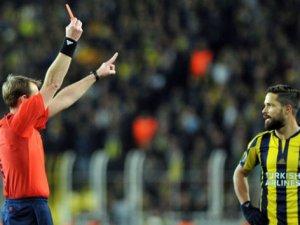 Diego 8 yıl sonra kırmızı kart gördü