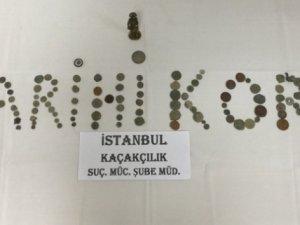 İstanbul'da 133 parça tarihi eser ele geçirildi
