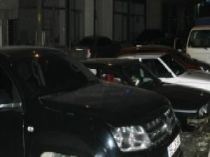 Tekirdağ'da park halindeki araçlara saldırı