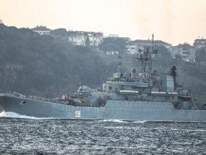 O Rus gemisi Boğaz'dan geçti