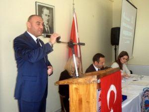 Balkan Türkleri Göçmen Ve Mülteci Dernekleri Federasyonu Genel Başkanı Yyüksel Özkan