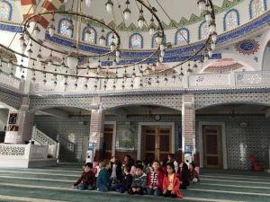 Sorgun'da kreş öğrencileri cami gezdi