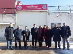 Erzurum E Tipi Kapalı Ceza İnfaz Kurumuna Ziyaret