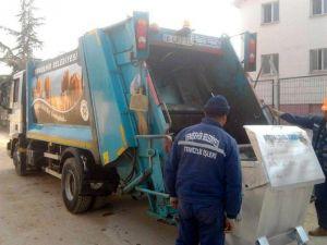 Yenişehir'de ayda 550 ton atık toplanıyor