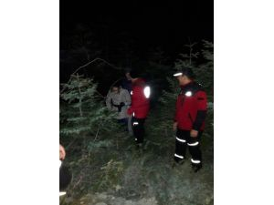 Uludağ'da kaybolanları jandarma kurtardı