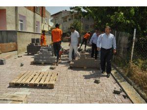Darıca'da 111 sokakta asfalt serimi yapıldı