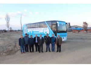 Beyşehir belediyesine yeni otobüsler