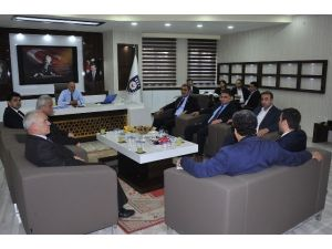 Milletvekili Konuk'tan belediyeye ziyaret