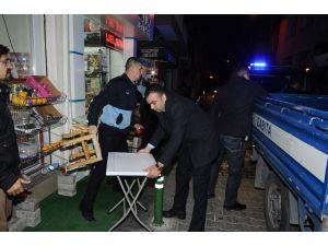 Karşıyaka'da 2 bin iş yerine işgal cezası kesildi