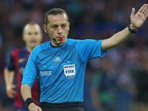Cüneyt Çakır EURO 2016'da düdük çalacak
