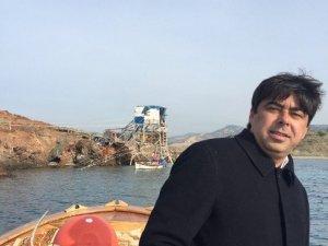 Denize açılan Başkan Demirağ balıkçılarla ağ topladı