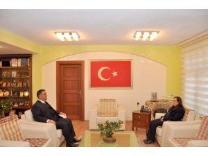 KKTC Mersin Konsolosu'ndan Tarsus'a ziyaret