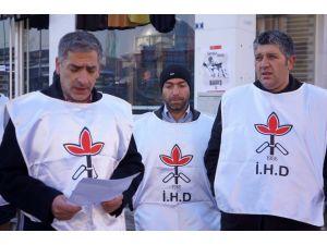 İHD: Sokağa çıkma yasağı fiili darbedir