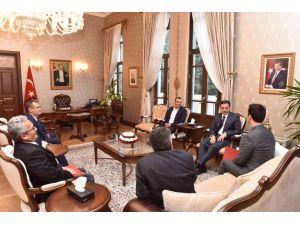 Vali Topaca: 2016 yılı yatırımlarında Erzin'e öncelik vereceğiz