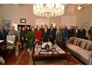 Makgöç'ten Vali Bektaşa Ziyaret