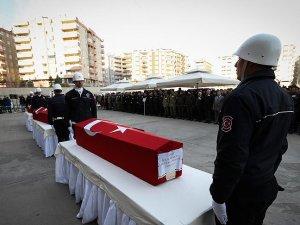 Şehit polisler için Diyarbakır'da tören düzenlendi