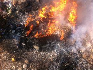 Iğdır'da Lastik Yaktığı Tespit Edilen 2 İşletmeye Ceza