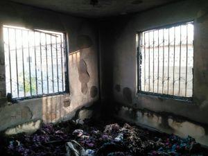 Siverek'teki yangın paniğe neden oldu