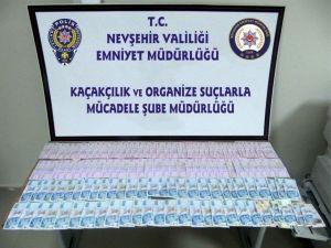 Nevşehir'de Piyasaya Sahte Para Süren 2 Kişi Tutuklandı