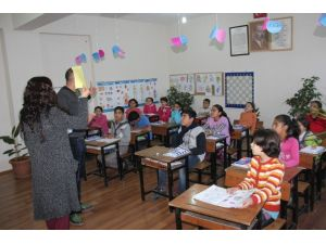 Suriyeli Çocuklara Özel Sınıf