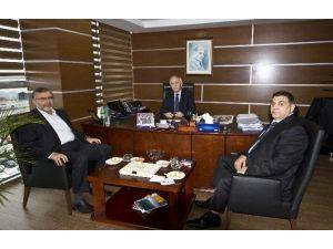 Konsiad'tan Tredaş Yönetim Kurulu Başkanvekili Erdoğan'a Ziyaret