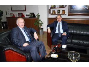 Rektör Şimşek'ten Erdoğan'a Ziyaret