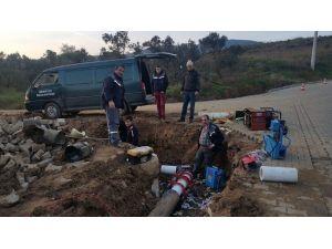 Armutlu'daki Jeotermal Hatlar Bakımdan Geçiyor