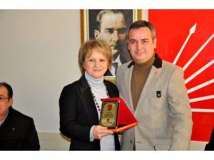 CHP Karacabey'de devir teslim töreni