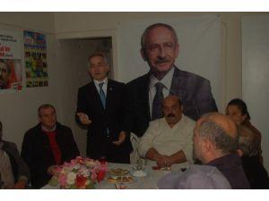 CHP Çanakkale İl Başkan Adayı Güneşhan Delegelerle Bir Araya Geldi